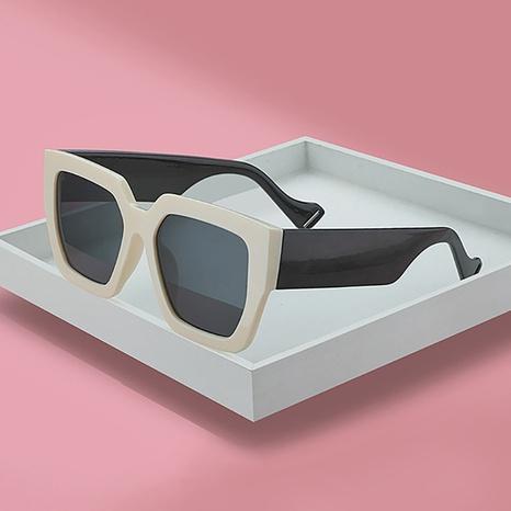 nouvelles lunettes de soleil à grande monture de style de mode NHLMO344400's discount tags