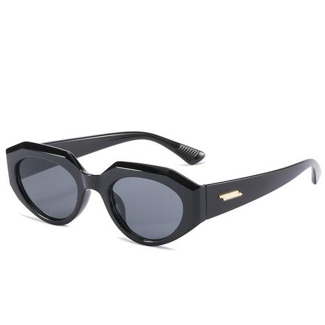 nouvelles lunettes de soleil polygonales à monture de style de mode NHLMO344406's discount tags