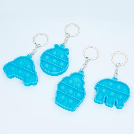 Porte-clés de jouet créatif de couleur de pionnier de rongeur amusant de bulle de dessin animé NHAP344440's discount tags