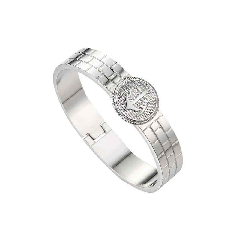 wholesale fashion anchor geometric alloy bracelet NHOA344512