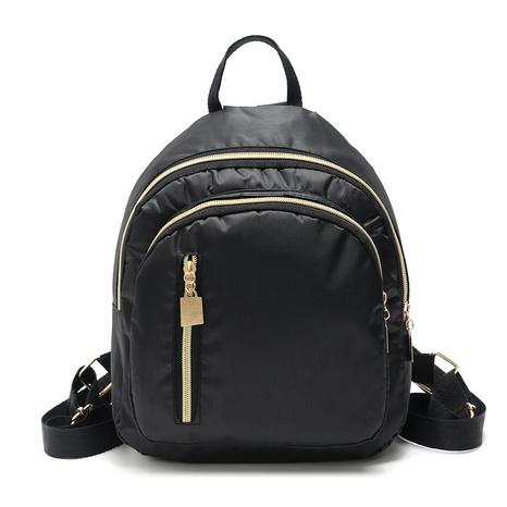 Petit sac à dos en tissu de nylon de couleur unie NHLAN344557's discount tags