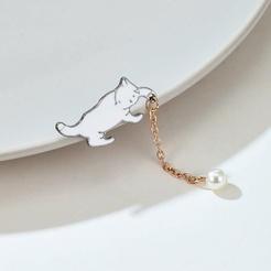 Neuer Modestil Süße süße Katzenbrosche NHGY345117