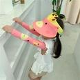 NHCM1600396-Watermelon-red-giraffe-【Hat-Sleeves】Two-piece-su
