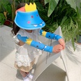 NHCM1600399-Blue-dinosaur-【Hat+Ice-Sleeves】Two-piece-suit