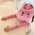 NHCM1600402-Pink-bunny-【Hat+Ice-Sleeves】Two-piece-suit
