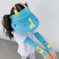 NHCM1600405-New-Blue-Giraffe-【Hat+Ice-Sleeves】Two-piece-suit