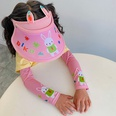 NHCM1600411-New-rabbit-ears-pink-【Hat+Ice-Sleeves】Two-piece-