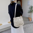 fashion contrast color leather chain large capacity shoulder bag NHJZ344665