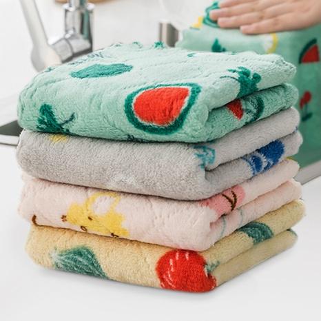 Torchon à vaisselle imprimé recto-verso torchon à vaisselle bicolore NHYUE344183's discount tags