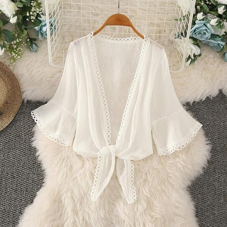 veste cardigan sauvage à la mode simple NHZN331219's discount tags