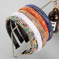 neue Mode einfarbig Diamant Stirnband NHLN331264
