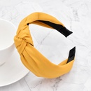 simple frosted solid color headband  NHCL331546