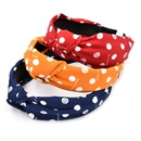 fashion letter wave dot hairband NHCL331566