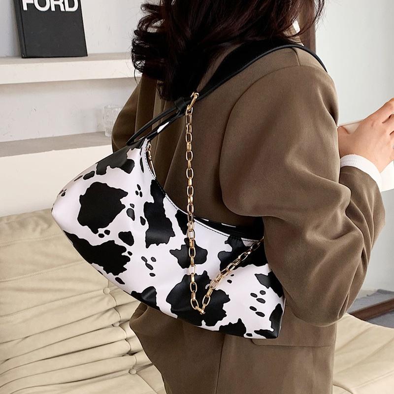 Simple zebra pattern messenger shoulder bag wholesale NHLH332057