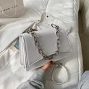 fashion messenger metal chain small square bag NHJZ332188