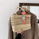fashion bows straw woven bag  NHJZ332244