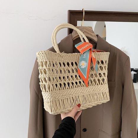 fashion bows straw woven bag  NHJZ332244's discount tags