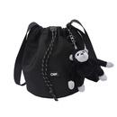 Korean solid color shoulder messenger bag wholesale NHJZ332273