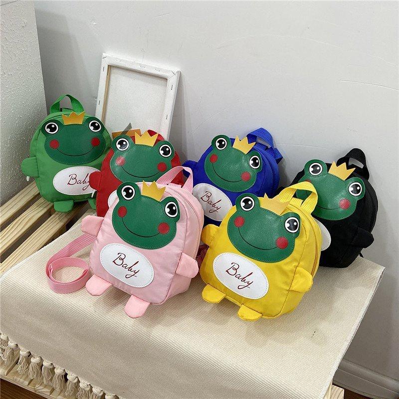 Korean children's frog backpack wholesale NHTG332329