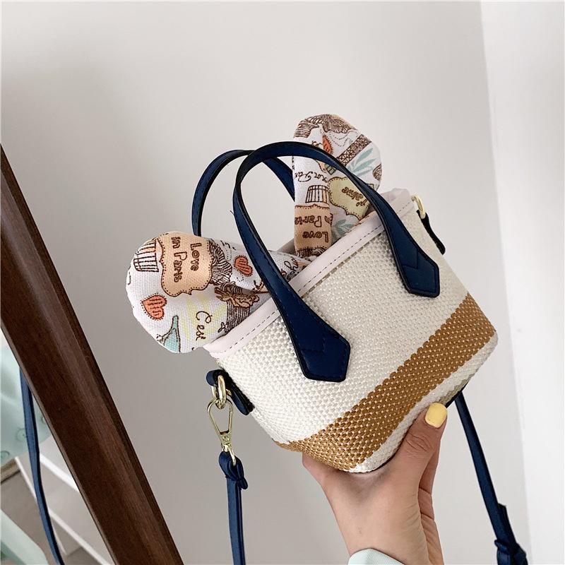 Fashion bow messenger shoulder portable bag NHTG332333