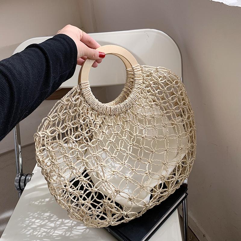 Fashion hollow straw portable bag wholesale NHTG332341