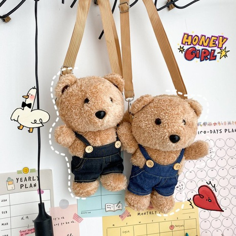 Sac à bandoulière mignon ours en peluche en gros NHTG332349's discount tags