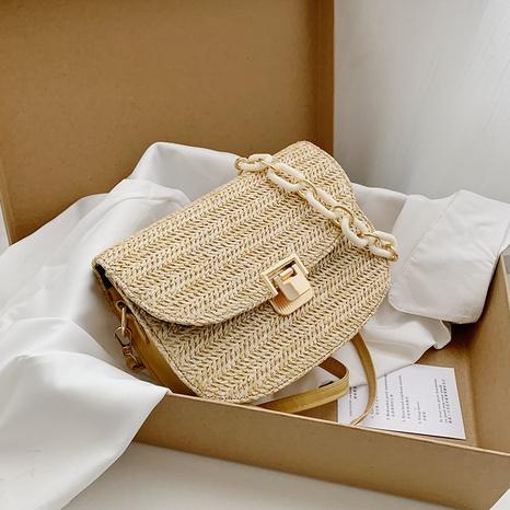 new fashion woven messenger bag NHRU332448's discount tags