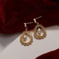 NHAQ1532863-Hollow-pearl-earrings