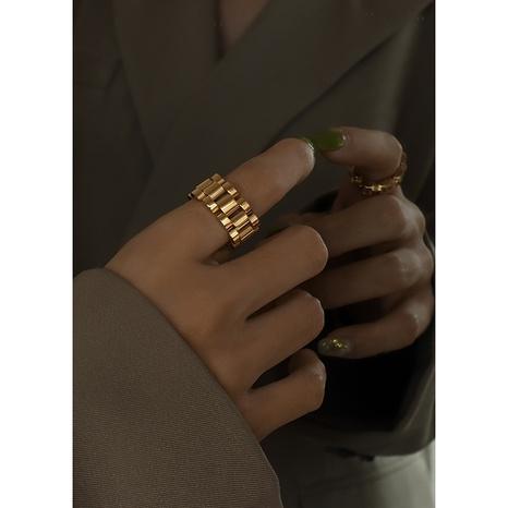 fashion combination handmade titanium steel ring NHOK332624's discount tags