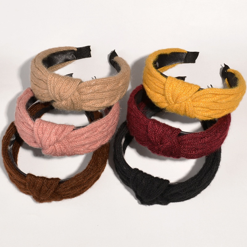 simple woolen fabric headband  NHWB332750