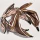 fashion big-ear bow-knot broad-brimmed headband  NHWB332772