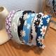 Korean daisy printing headband  NHWB332765