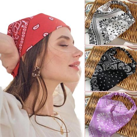 Einfaches breites elastisches Dreieckschal-Stirnband NHOF332861's discount tags