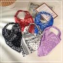 Simple wide elastic triangle scarf headband NHOF332861