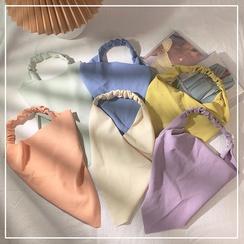 Mode einfarbig Dreieck Schal Stirnband Großhandel NHOF332866