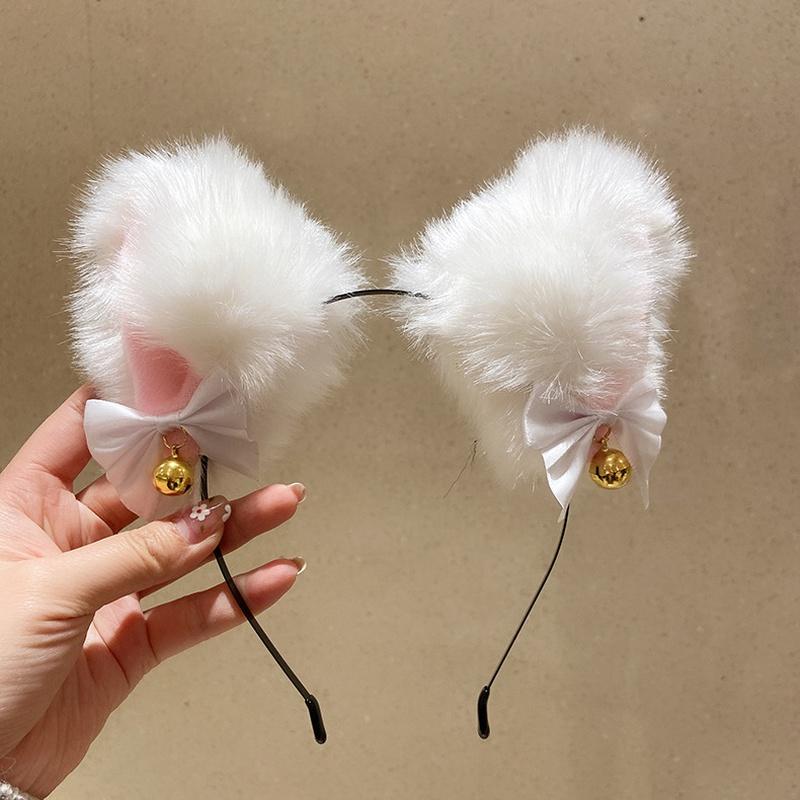 fashion plush animal ears hair band NHMS332881