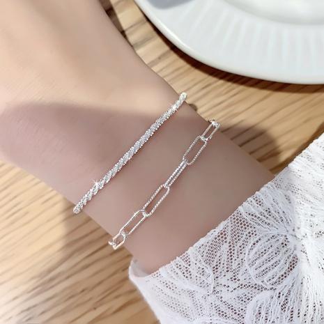 Korean heart-shape copper bracelet wholesale NHMS332892's discount tags