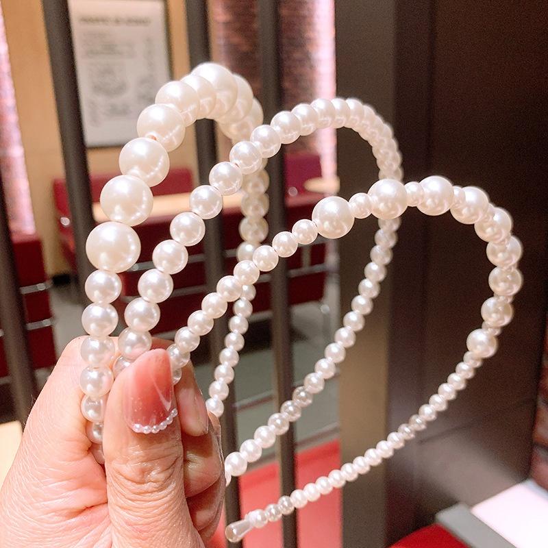 Retro Pearl headband Wholesale NHSA333020
