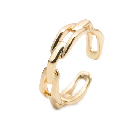 new simple creative copper open ring NHYL333069's discount tags