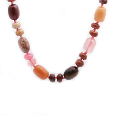 Collier de pierres semi-précieuses de mode en gros NHYL333067's discount tags