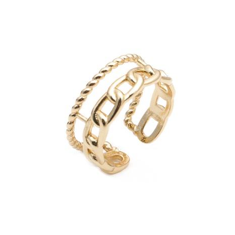 retro fashion chain twist ring NHYL333070's discount tags