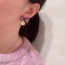 Fashion Candy Color Bow Stud Earrings NHWK333076