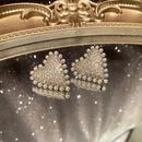 Fashion Heart Bead Pearl Earrings NHWK333137