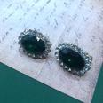NHOM1537801-Rhinestone-925-Silver-Stud-Earrings-1.92.5-cm