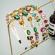 Korean fashion double-layer geometric rhinestone headband NHLN333316
