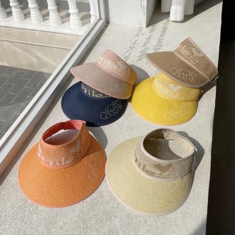 crème solaire simple coupe-vent vide Chapeau de paille pour enfants NHCM333613's discount tags