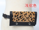 retro colorful leopard print waist bag  NHJSR333695
