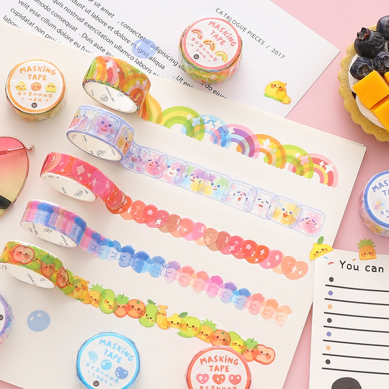 cute tearable material stickers 100 pieces NHZE333807