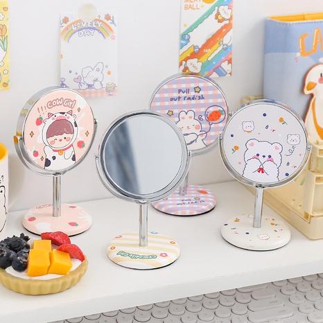 Tragbarer Kosmetikspiegel des koreanischen vertikalen Klappens NHZE333824's discount tags