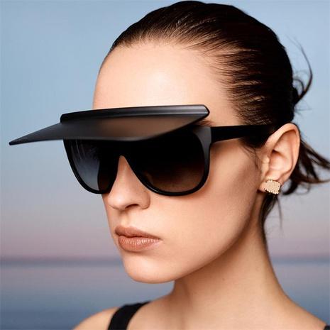 Chapeau de mode lunettes de soleil à double usage en gros NHKD333377's discount tags
